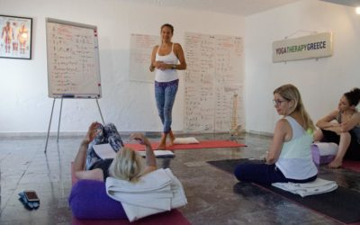 YOGA THERAPY TRAINING On-line July 2020 and in Greece ~ Summer 2021 (400 hours)